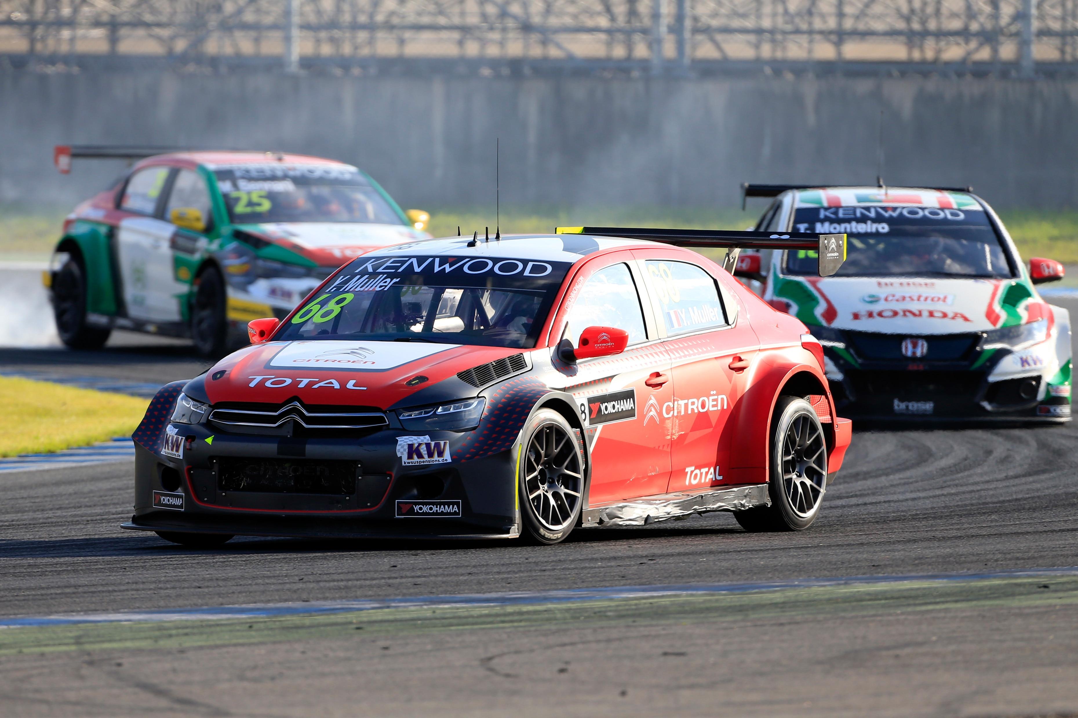 FIA WORLD TOURING CAR CHAMPIONSHIP 2016 - JAPAN - MOTEGI - WTCC - 01/09/2016 TO 04/09/2016 - PHOTO :  @World 68- YVAN MULLER - CITROEN TOTAL WTCC