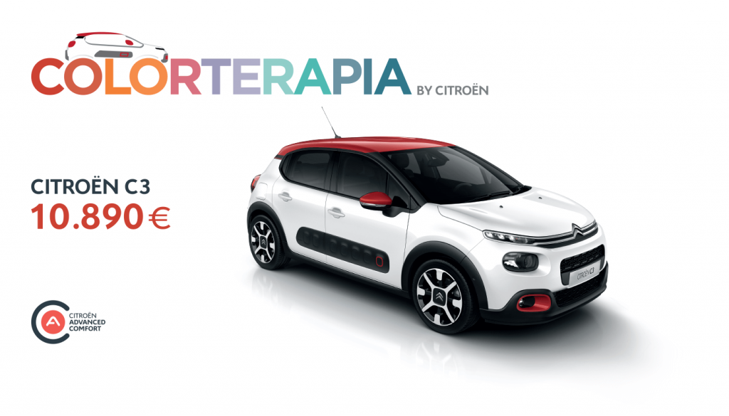 COLORTERAPIA ОД CITROËN СО C3