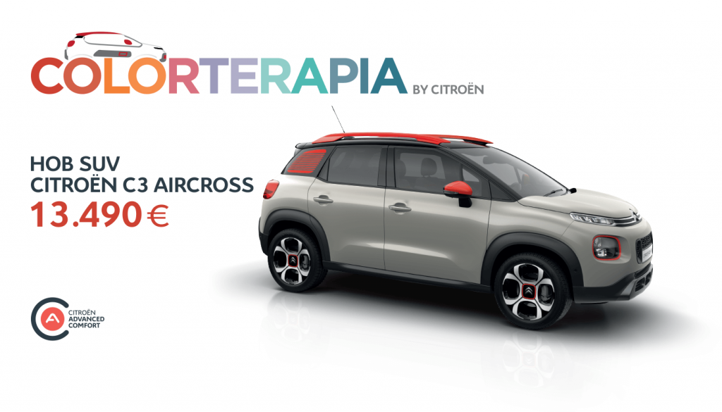 COLORTERAPIA ОД CITROËN СО C3 AIRCROSS