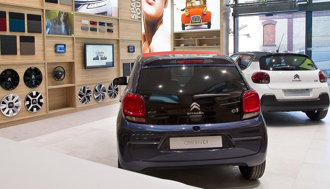 Maison Citroën C1 Noire